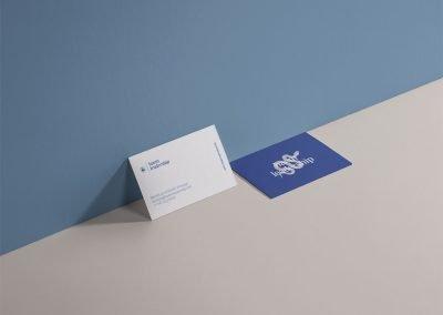 Business card design for Baem Leadership