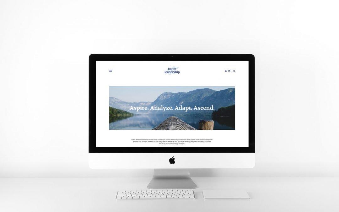 Case Study: Branding and Web Design for Baem Leadership