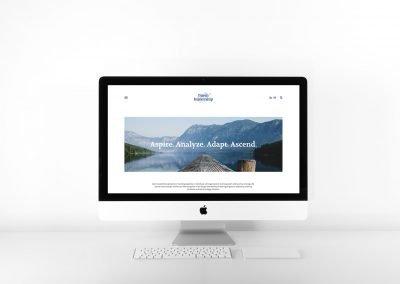 Baem Leadership web design