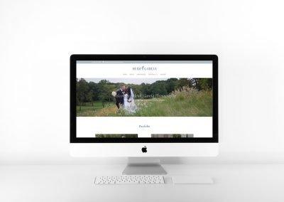 Heidi Garcia Photography website design