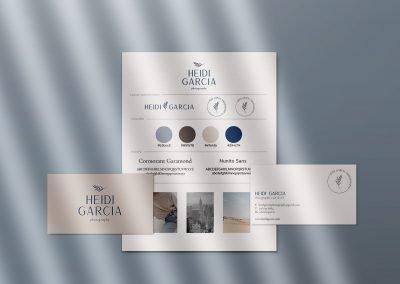 Heidi Garcia Photography brand identity design