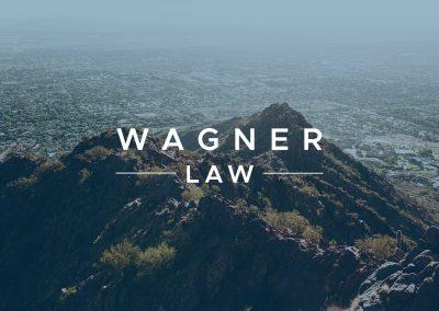 Wagner Law logo mockup