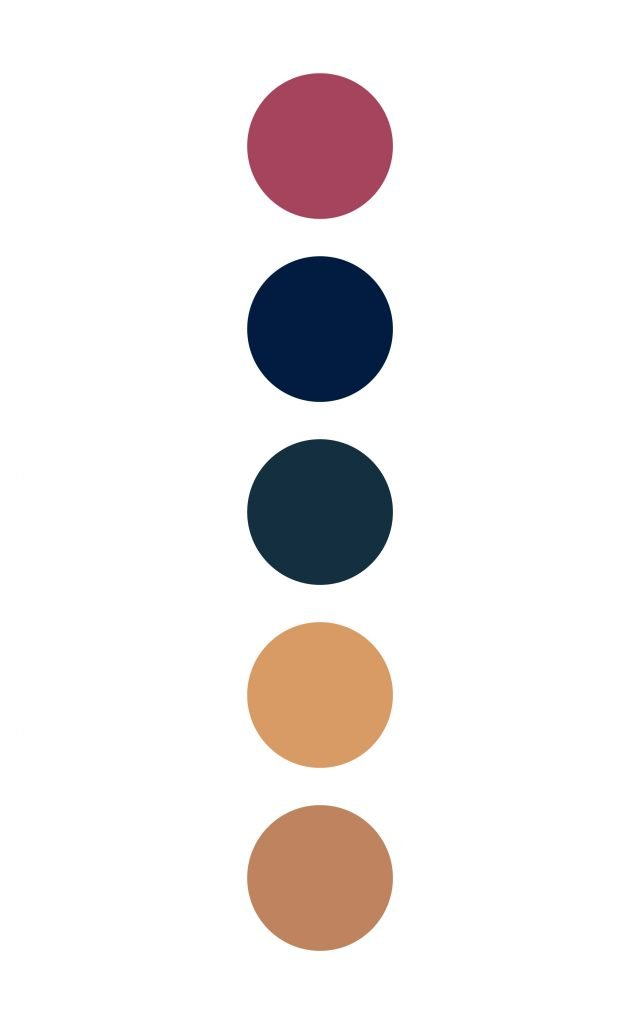 Colorful and sophisticated color palette